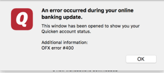 Quicken Download Error 28