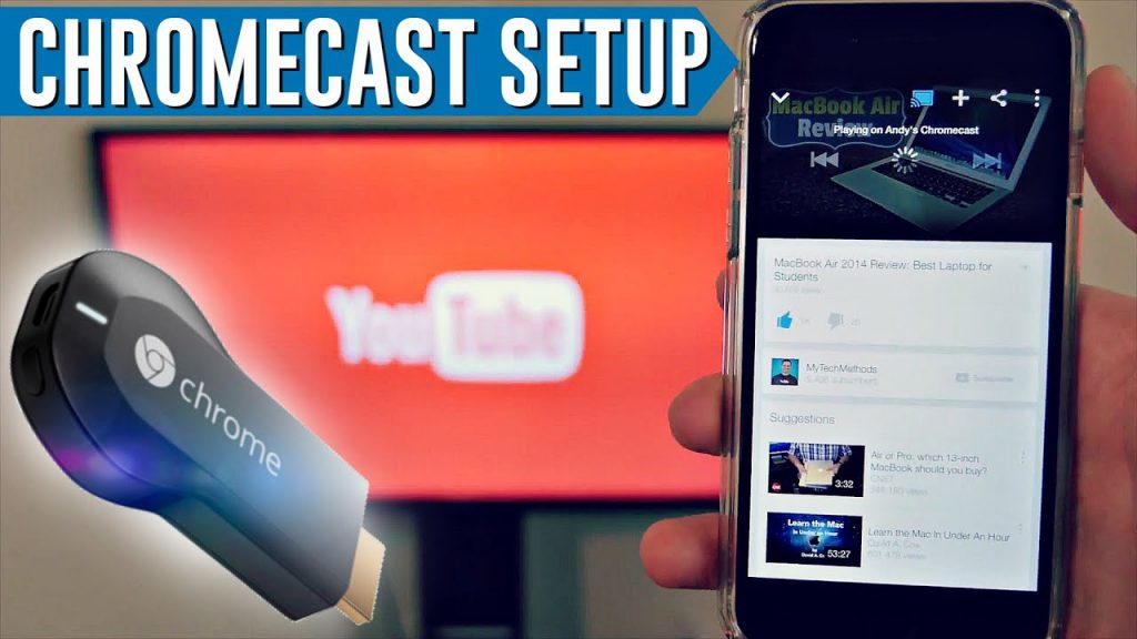 chromecast.com/setup TV