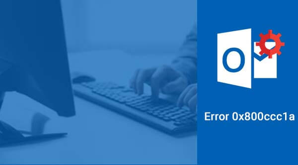 Outlook error 0x800ccc1a