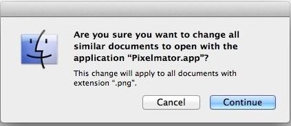 MacOS File Settings