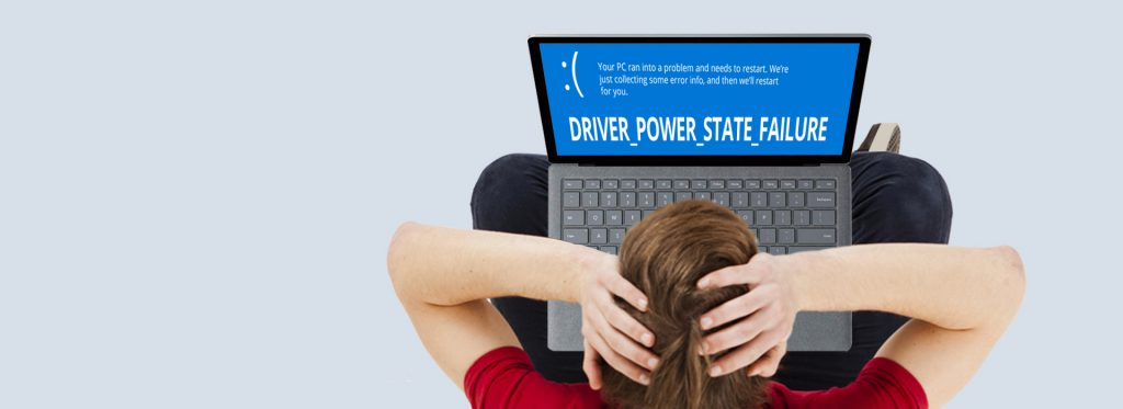 Laptop error driver power state failure