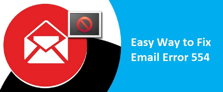 Email error 554