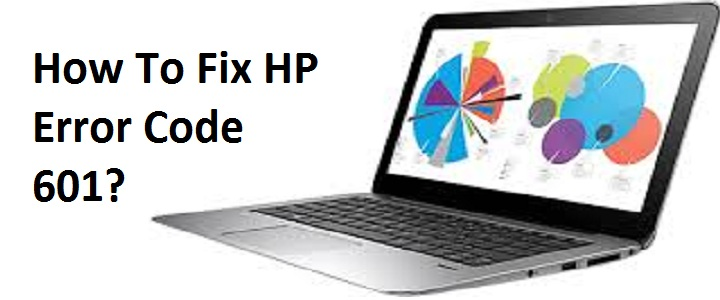Laptop Hp error 601