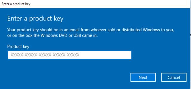 Windows 10 Error 0xc004f050