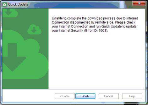 Windows 10 Error 1001