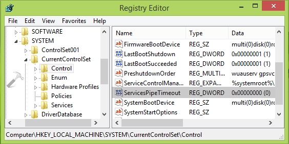Windows 10 Error 1053