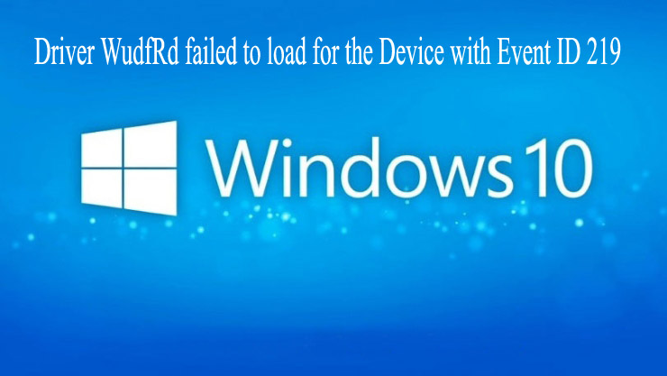 Windows 10 Error 219
