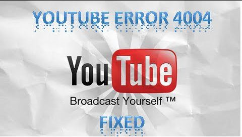 Xbox 360 Youtube Error 4004
