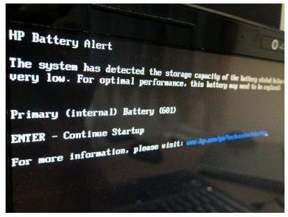 Laptop Hp error 601