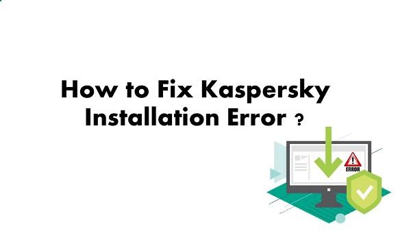 Error install Kaspersky