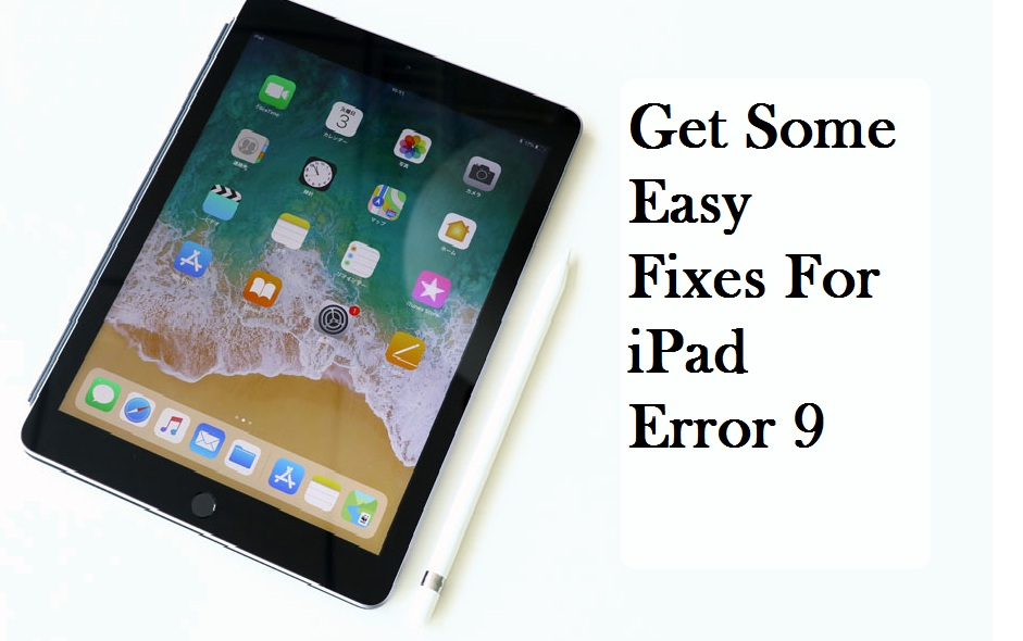 Apple iPad error 9