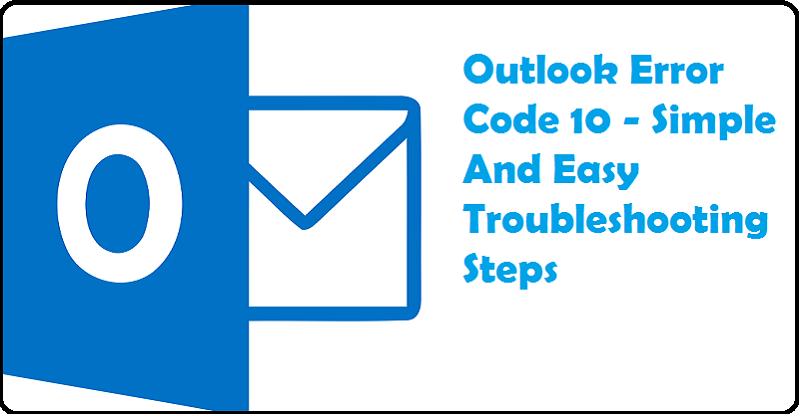 Outlook error code 10
