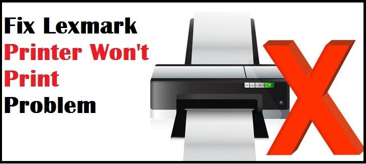 Lexmark Printer Not Printing