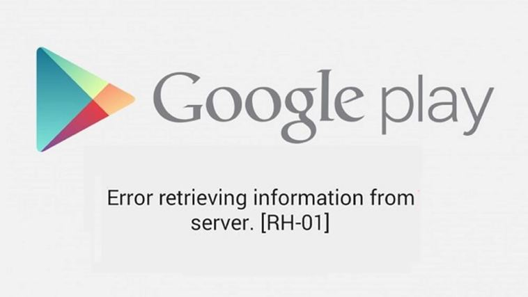 Google play store error rh-01