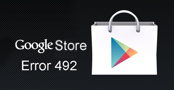 Google Play Error 492