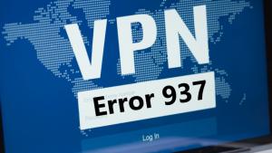 Vpn Error 937