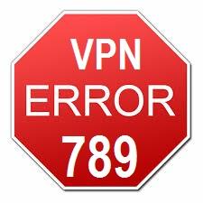 VPN Error 789