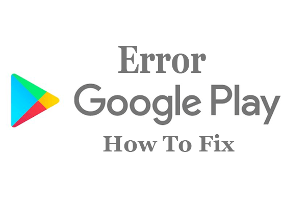 Google play store update error 921