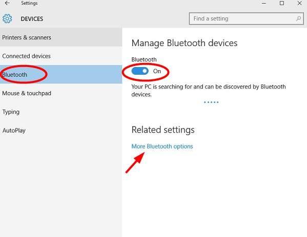Bluetooth Headphones Error