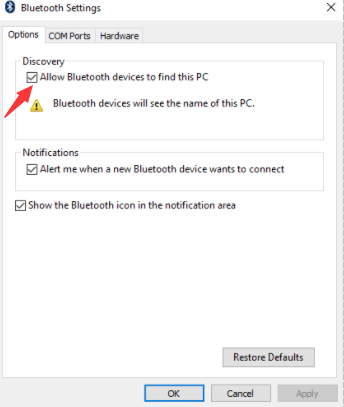 Bluetooth Headphones Error