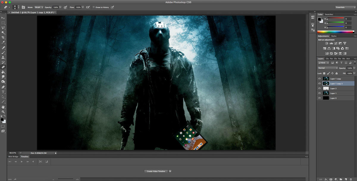 Adobe Photoshop Error 16