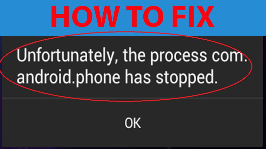 Unfortunately phone has stopped