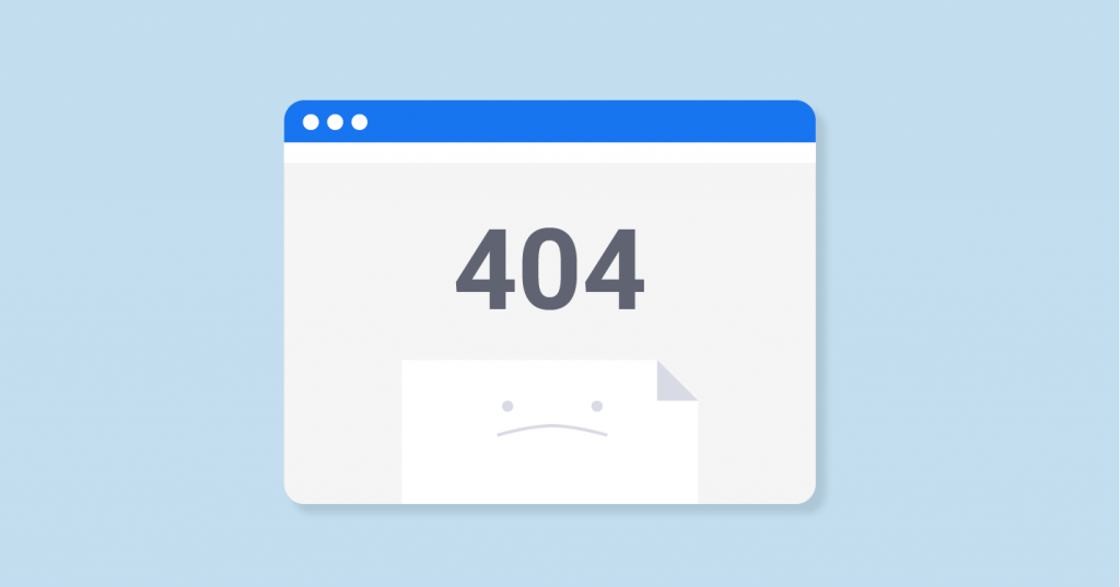 HTTP 404 Not Found Error