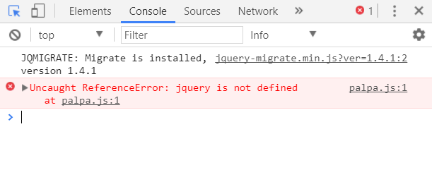 Uncaught referenceerror jquery is not defined wordpress