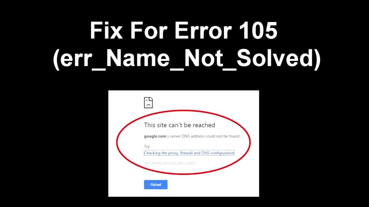 err_name_not_resolved wordpress