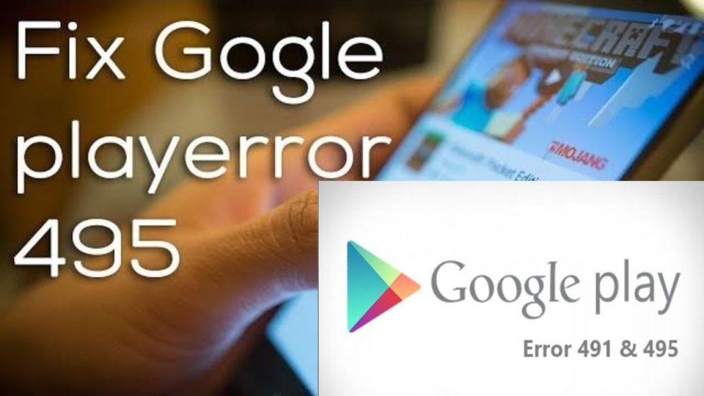 Google Error 495